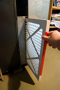 Home furnace filter
